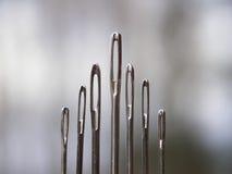 Metallnadeln lizenzfreie stockbilder