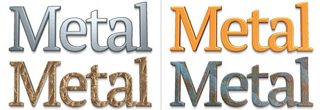 Metallo Immagini Stock