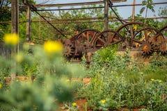 Metallo abbandonato distilleria vecchio immagine stock libera da diritti