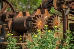 Metallo abbandonato distilleria vecchio immagine stock