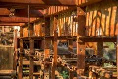 Metallo abbandonato distilleria vecchio fotografie stock libere da diritti