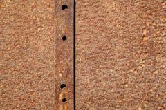 Metallo arrugginito Immagini Stock Libere da Diritti