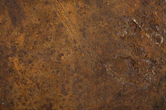 Metallo arrugginito utile come gli ambiti di provenienza o strutture Immagini Stock Libere da Diritti