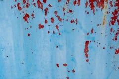 Metallo astratto di colore di lerciume e fondo rustico e strutturato Fotografia Stock