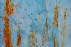 Metallo astratto di colore di lerciume e fondo rustico e strutturato Fotografie Stock Libere da Diritti