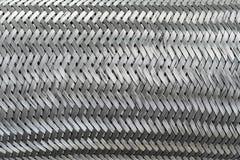 Metallo astratto di struttura del reticolo Immagine Stock