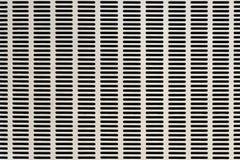 Metallo bianco con ventilazione Fotografie Stock Libere da Diritti