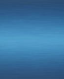 Metallo blu Fotografia Stock