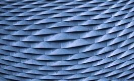 Metallo blu Immagini Stock