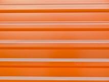 Metallo colorato, trapeze rosso ondulato Fotografie Stock Libere da Diritti