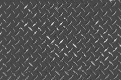 Metallo d'acciaio industriale Diamond Plate Texture immagini stock libere da diritti