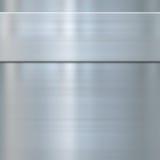 Metallo d'acciaio spazzolato indennità Fotografia Stock