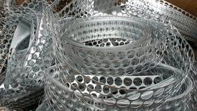 Metallo d'argento di lustro immagini stock libere da diritti