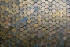 Metallo del fondo della parete Fotografie Stock Libere da Diritti