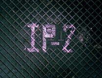 Metallo del pavimento di Grunge Fotografia Stock