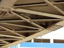 metallo del ponte fotografia stock