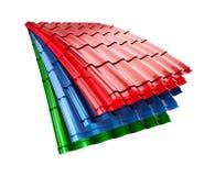 Metallo del tetto Fotografia Stock Libera da Diritti