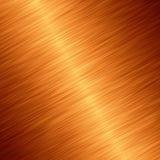 Metallo dell'oro Fotografia Stock