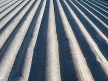 Metallo di Ccorrugated Immagini Stock Libere da Diritti