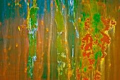 Metallo di corrosione Fotografia Stock