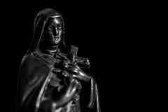 Metallo di Maria del vergine Fotografia Stock