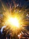 Metallo di taglio Immagine Stock Libera da Diritti