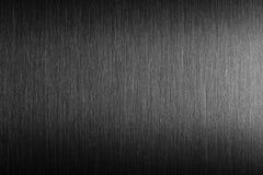 Metallo duro Metallo spazzolato con la riflessione dura Fotografie Stock Libere da Diritti