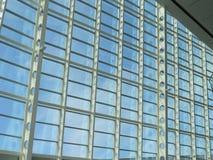 Metallo e vetro Fotografia Stock