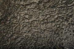Metallo fuso del fondo strutturato Fotografia Stock