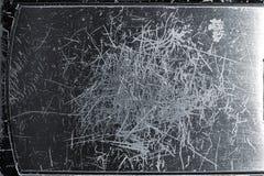 Metallo graffiato Fotografie Stock Libere da Diritti