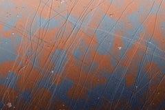 Metallo graffiato Immagine Stock