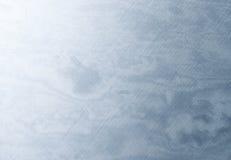 Metallo graffiato blu Immagine Stock