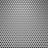Metallo holes1 Immagine Stock Libera da Diritti