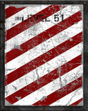 Metallo industriale graffiato Immagini Stock Libere da Diritti