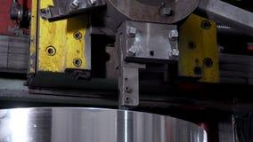 Metallo lavorante della macchina di CNC video d archivio