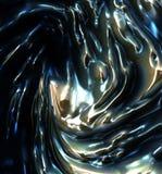 Metallo liquido Fotografie Stock Libere da Diritti