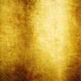 Metallo lucidato oro Immagini Stock