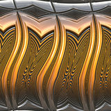 Metallo lucido royalty illustrazione gratis