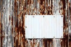Metallo ondulato Fotografie Stock Libere da Diritti
