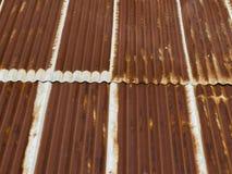 Metallo ondulato nocivo Fotografie Stock