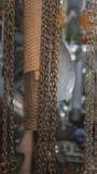Metallo, reggiseni Prodotti metallici della famiglia Prodotti da acciaio e dalla m. Fotografia Stock Libera da Diritti