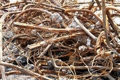 Metallo riciclato Fotografia Stock Libera da Diritti