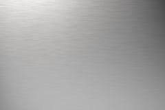 Metallo spazzolato Fotografia Stock
