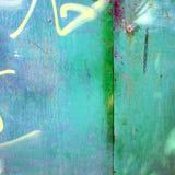 Metallo verde Immagini Stock