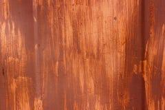 Metalloberfläche mit verschiedenen Farbenabstrichen Lizenzfreie Stockfotos