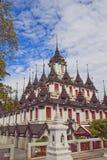 Metallpalast Bangkok Thailand Stockfotografie