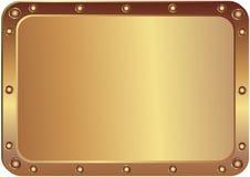 Metallplatin stock abbildung