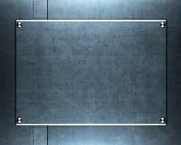 metallplatta arkivbilder