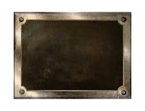 metallplatta royaltyfria bilder