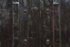 Metallplatta med bulten Royaltyfri Bild